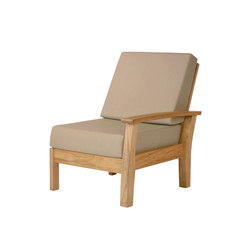 Haven | Right Module | Garden armchairs | Barlow Tyrie