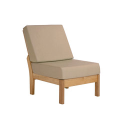 Haven | Middle Module | Garden armchairs | Barlow Tyrie