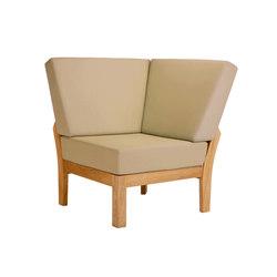 Haven | Corner Module | Garden armchairs | Barlow Tyrie