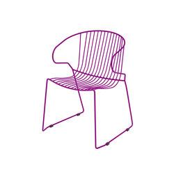 Bolonia Stuhl | Bougainvillea purple | Mehrzweckstühle | iSimar