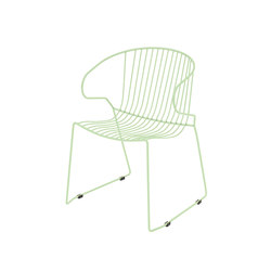 Bolonia chaise | Pastel green | Chaises polyvalentes | iSimar