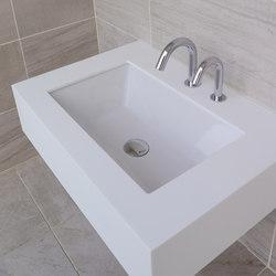 Aquasei Undercounter Lavatory 5254 | Wash basins | Lacava