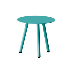 Corsica table | Agata blue | Cafeteria tables | iSimar