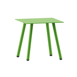 Corsica table | Grass green | Cafeteria tables | iSimar
