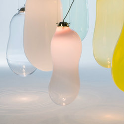 The Big Bubble glass lamp coloured Small | Suspended lights | Tuttobene