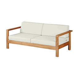 Linear | Two-Seater Settee | Gartensofas | Barlow Tyrie