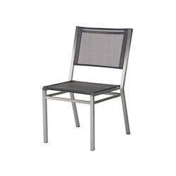 Equinox | Steel Dining Chair | Sedie | Barlow Tyrie