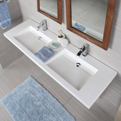 Libera Vanity Top Lavatory 5302S | Wash basins | Lacava