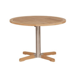 Equinox | Pedestal Table 100 | Dining tables | Barlow Tyrie