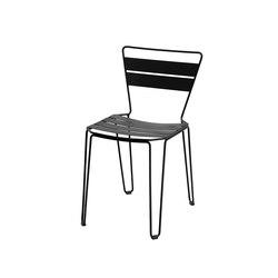 Mallorca Chair  | Night black | Chairs | iSimar
