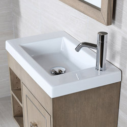 Dimini Vanity Top Lavatory 5272 | Wash basins | Lacava