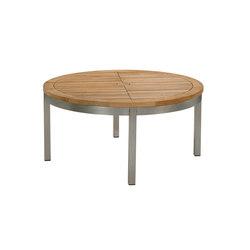 Equinox | Conversation Table 100 | Tables basses de jardin | Barlow Tyrie