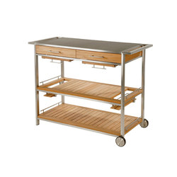 Mercury | Serving Table | Garten-Servierwagen | Barlow Tyrie