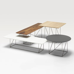 Pilotis occasional tables | Side tables | COR