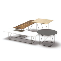 Pilotis side tables | Tavolini bassi | COR
