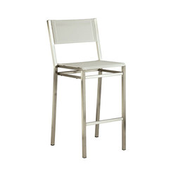 Equinox | High Dining Chair | Taburetes de bar de jardín | Barlow Tyrie