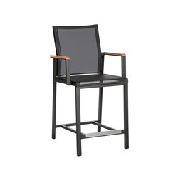 Aura | Counter Height Dining Carver Chair | Garten-Barhocker | Barlow Tyrie