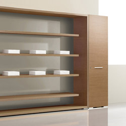 Arche | Office shelving systems | Bralco