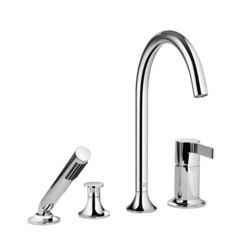 Vaia - Four-hole single-lever bath mixer | Bath taps | Dornbracht