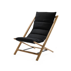 Arenzano Chair | black | Garden armchairs | Woodnotes