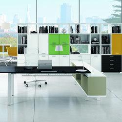 Ubi Evo | Office shelving systems | Bralco