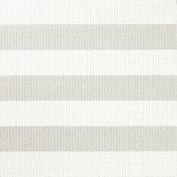 Big Stripe paper yarn carpet | stone-white | Tappeti / Tappeti d'autore | Woodnotes