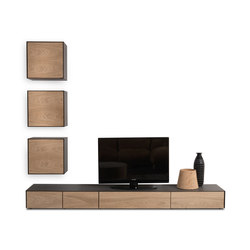 Rialto 2013 Wall Unit | Commodes multimédia | Riva 1920