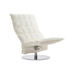 k Chair | wide | Swivel | Sessel | Woodnotes