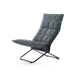 k Chair | narrow | with Tubular Frame | Fauteuils | Woodnotes