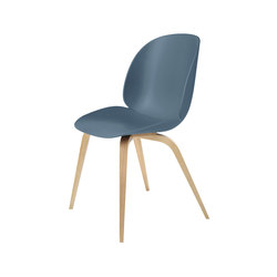 Beetle Chair – wood base | Sedie visitatori | GUBI