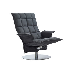 k Chair | with Armrests | Swivel | Poltrone | Woodnotes