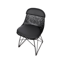 carbon pad & cap | Restaurant chairs | moooi