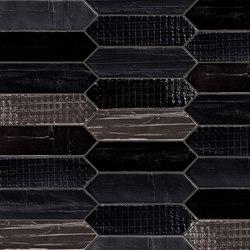 Tissue Noir | Ceramic tiles | Mirage