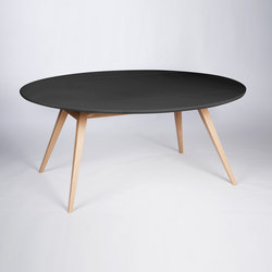 4 Seconds | 170 Carbon Black | Dining tables | MMooD