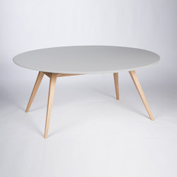4 Seconds | 170 Light Grey | Dining tables | MMooD