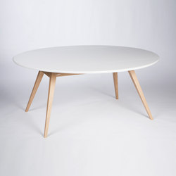 4 Seconds | 170 White Signal | Dining tables | MMooD