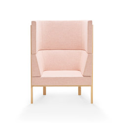 Homework armchair, highback | Loungesessel | Les Basic
