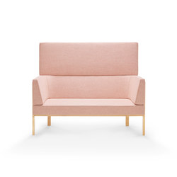 Homework sofa, highback (straight) | Sofás | Les Basic