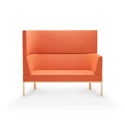 Homework sofa, highback (left) | Loungesofas | Les Basic