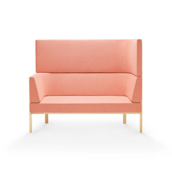 Homework sofa, highback (right) | Lounge sofas | Les Basic