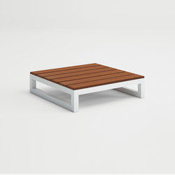 Saler Soft Teak Table for chaiselongue | Side tables | GANDIABLASCO