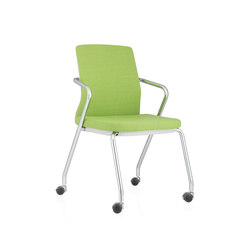 Pyla Quattro | Visitors chairs / Side chairs | ICF