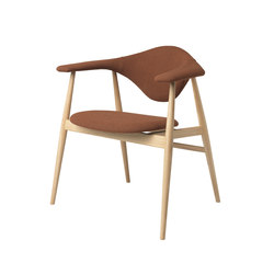 Masculo Chair – wood base | Besucherstühle | GUBI