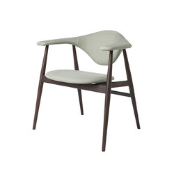 Masculo Chair – wood base | Visitors chairs / Side chairs | GUBI