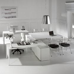 Lance | Blanco | Blanco | Desking systems | Ofifran