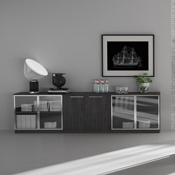 Meta | Antracita | Roble Azabache | Sideboards / Kommoden | Ofifran