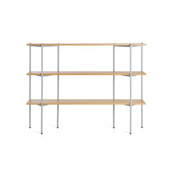 Troika medium, 3-level | Office shelving systems | Les Basic