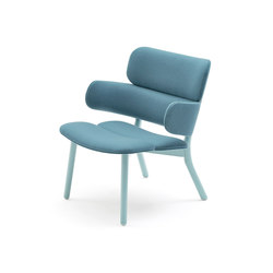 Bands lounge armchair | Sillones lounge | Varaschin