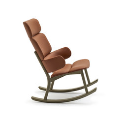 Bands | Bergere Rocking Armchair | Sessel | Varaschin