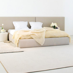 Woodnotes Bed | Frame | stone white | Basi letto | Woodnotes